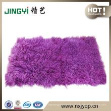 Wholesale Fancy Tibetan Mongolian Lamb Fur Plate