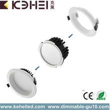 Dimbare downlight 12W warm wit om wit te koelen