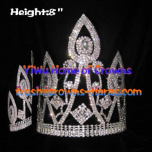 8inch Unqiue Wholesale Pageant Crowns