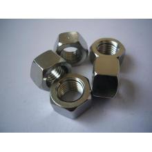 Tuercas hexagonales de acero inoxidable