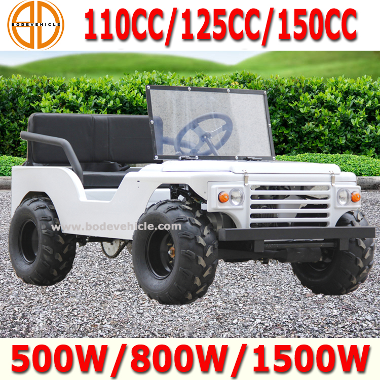 Bode Quality Assured 500w Mini Jeep Willys for Sale