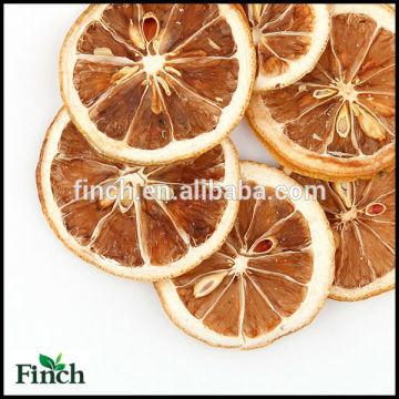 FT-007 Tranche de citron séchée en gros Thé parfumé de fleur de saveur parfumée