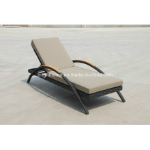 Pool Beach Sun Lounger Bed, Rattan Lounger Sofa Bed