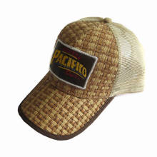 Promotion Straw Trucker Cap with Patch Logo