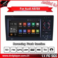 Hualingan GPS Navigation pour Audi A8 / S8 Radio Navigation Car DVD Player
