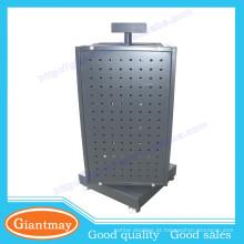 4 lados contador de metal plataforma giratória standboard