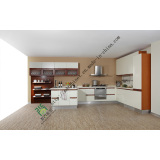 2014 Modern Rta Customized Lacquer Kitchen Cabinets