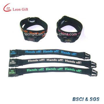 Bracelet polyester avec Clip en plastique