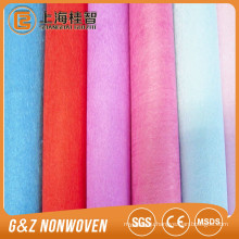 100gsm weight microfiber fabric for artificial leather many colors