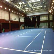 Roll en plastique PVC Sports Tennis Plancher Intérieur Utilisé