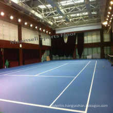 Plastic Roll PVC Sports Tennis Floor Indoor Used