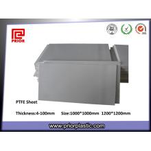 Hot Sale Skived Natural Color Teflon PTFE Sheet Manufacturer