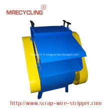 Machine de recyclage de fil de câble
