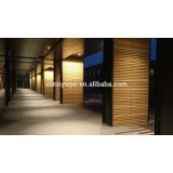 fire-resistant solid wood plastic composite WPC decking