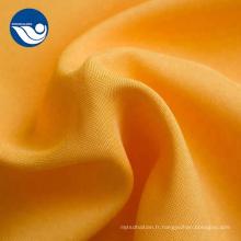 Tissu sergé de polyester antistatique mini mat