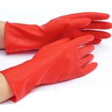 Eingelassene Flocklined Industrial Working Haushalt Sicherheit Latex Handschuhe