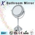 6 polegadas LED cosmética espelho com carrinho