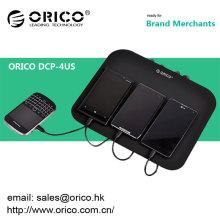 ORICO DCP-4US Estação de carregamento USB de 4 portas para iPhone / iPad / celular / tablet PC