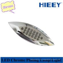 Luz de marcador lateral del LED del cromo de la alta calidad Luz de marcador lateral del LED auto para los remolques