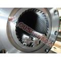 Barril de tornillo planetario para máquina extrusora de reciclaje de PVC TUBO PERFIL HOJA DE ESPUMA GRANULADOR PELLETIZADOR Keruit COLMONOY Stellite