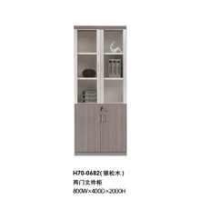 Contract Large Volume Melamine Office Wooden High File Cabinet (H70-0682)