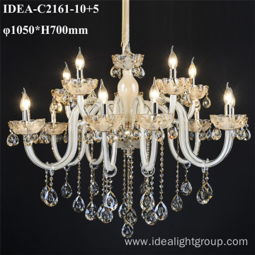 decorative glass lights home candle chandelier