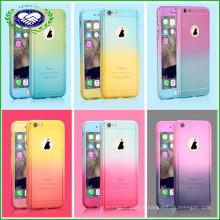 Full Body 360 Degree Protect Phone Case Gladient Housse de téléphone couleur pour iPhone