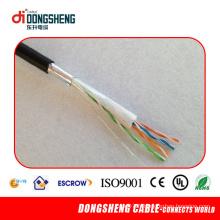 Cu / CCA 0.51mm Câble extérieur Cat5e FTP