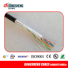 Cu/CCA 0.51mm Outdoor Cable Cat5e FTP