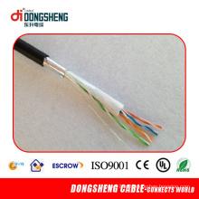 Cu / CCA 0.51mm cabo ao ar livre Cat5e FTP