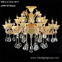 hotel lobby lighting modern home candle chandelier