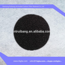 Material de filtro tela de fibra de carbono tela de fibra de carbono activada