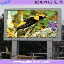 Panneau d'affichage électronique électronique fixe extérieure de SMD LED de P6