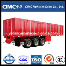 Remolque de contenedores para contenedores de carga pesada Cimc