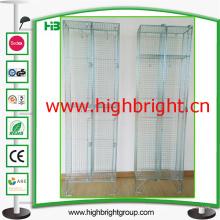 Malla de alambre de acero armario armarios