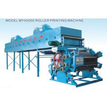 Máquina de impresión de rodillos textiles (MYH2000)