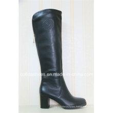 Winter Comfort Low Heel Women Leather Boots