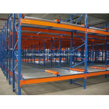 Warehouse Storage Picking System with Flow Gravity Roller Shelving
