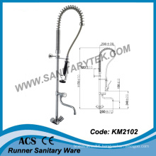 Deck Mounted Pre-Rinse Kitchen Sink Faucet (KM2102)