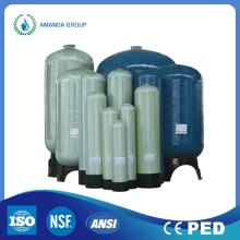Pengobatan 50m3 / jam Air Pressure Automatic Backwash Sand Filter Tank