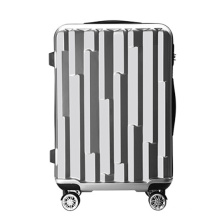 Hot Sale Waterproof Pure Color Factory PC+ ABS Travel Trolley Luggage