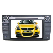 Ajuste de 2DIN coches reproductor de DVD para Toyota Swift 2006-2011 con Radio Bluetooth TV estéreo sistema de navegación GPS