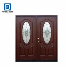 Фанда двойной большой вход дома дизайн двери