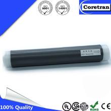Tubo de borracha preta do silicone da terminação do cabo do silicone IP68