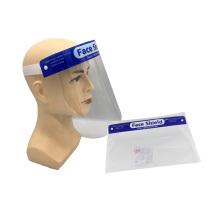 Visière de protection écrans faciaux transparents jetables