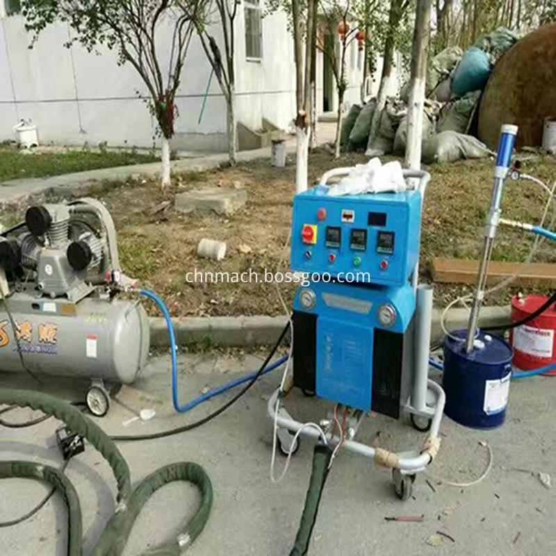 polyurea spray machine
