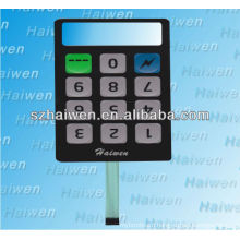 membrane switch with throug-hole design and manufacturer