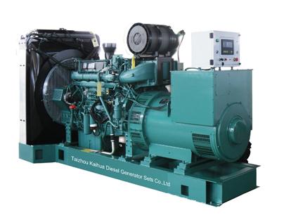 Volvo Diesel Generator Set 500kw