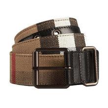 Men′s Pants Woven Nylon Webbing Braided Belt Custom Waistband Belt