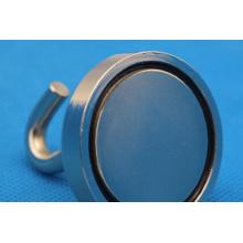 Ni Planted Permanent NdFeB/Neodymium Hook Magnet